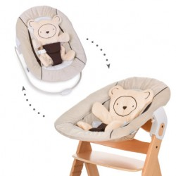 Sdraietta HAUCK Alpha Bouncer 2in1 Hearts beige